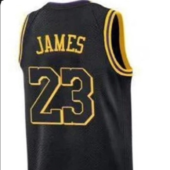 best loved 2ae4f c7ecd Lebron James Lakers Jersey